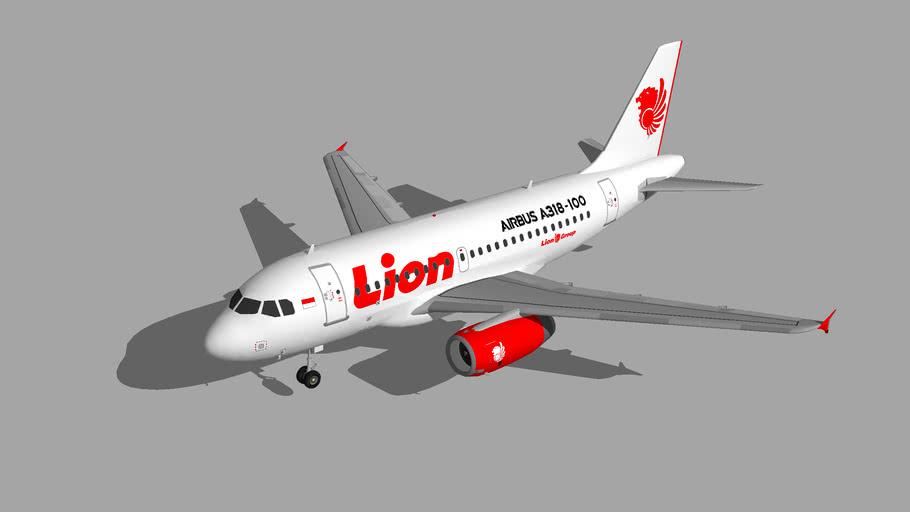 Lion Air Airbus A318-100