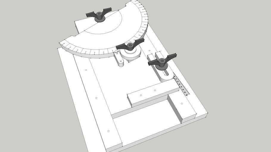 Gear Cutting Jig for Band Saw