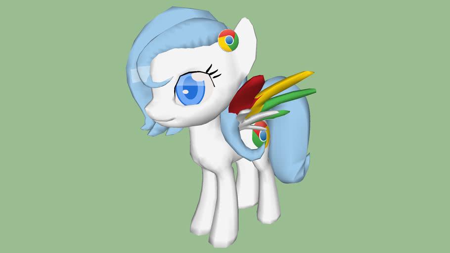 Chrome pony