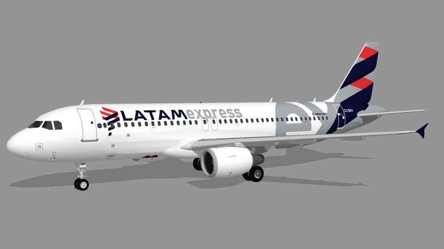 LATAM Express Chile (CC-BAV) - Airbus A320-214 (Fictional)