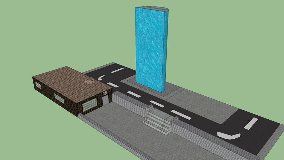 Torchwood Hub from street