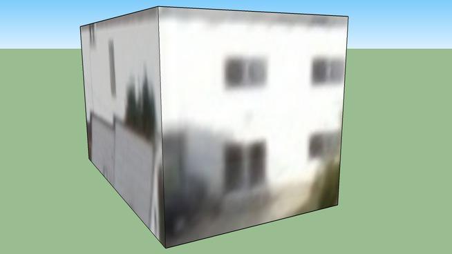 洛杉矶, CA, USA的建筑模型