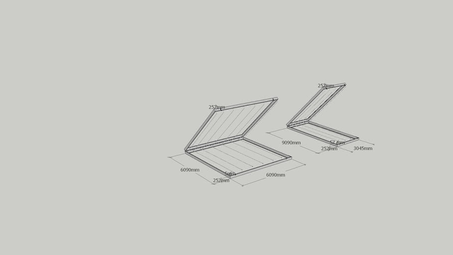 Kaizen filter frame for AHU,OAC