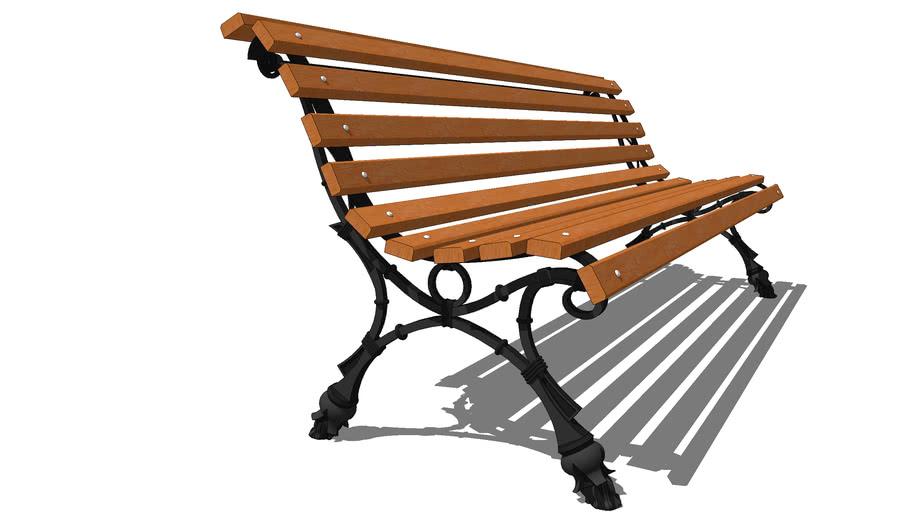 """Скамейка садовая """"Европа"""" /  Garden bench """"Europe"""""""