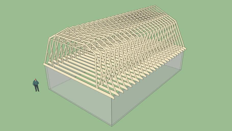 Gambrel Roof 1
