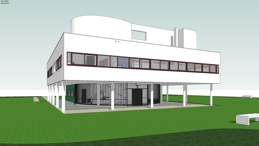 Villa Savoye,  Poissy, France - Le Corbusier