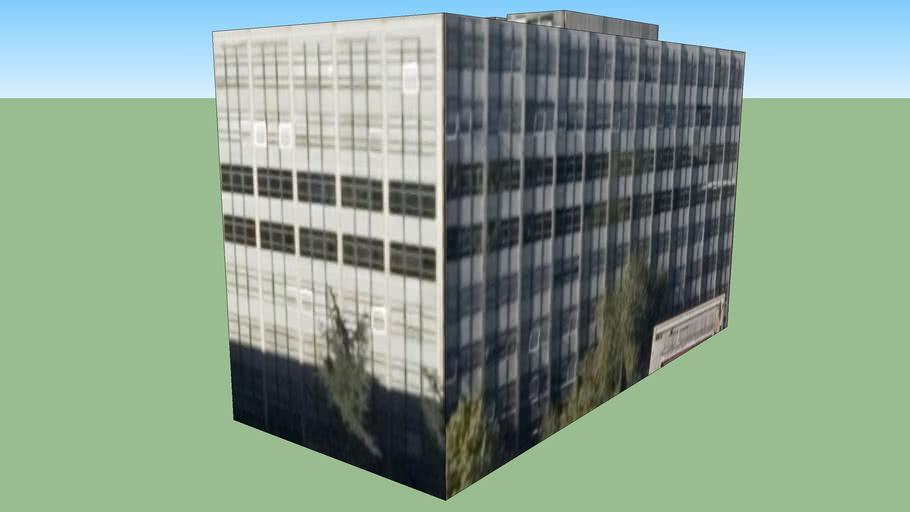 Building in Madrid, Spain