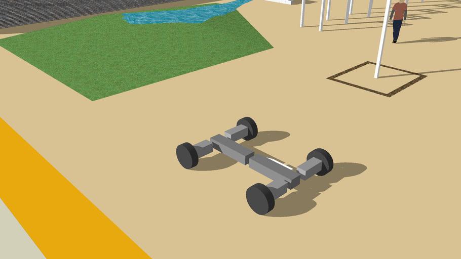 Sketchy physics car