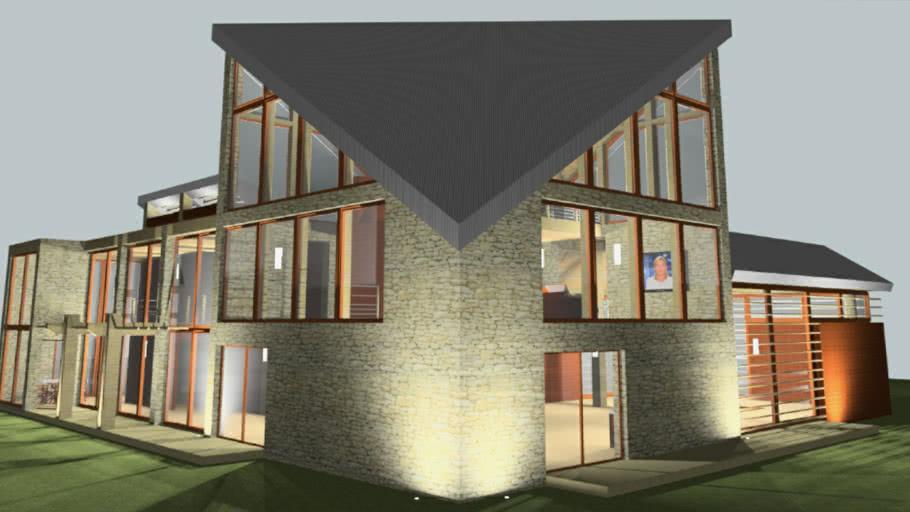 Projet d'habitation 6   ( modern house )