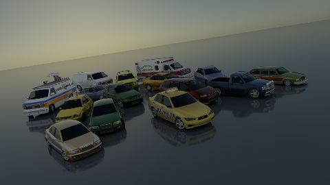 Need For Speed Most Wanted Traffic cars