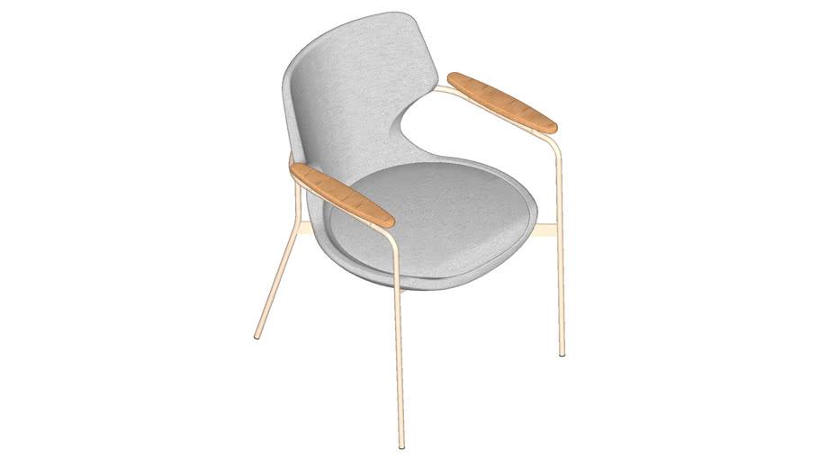 Cadeira Talitha living metal