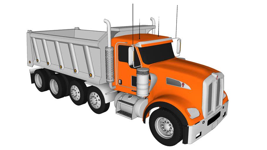 2011-2012 Kenworth W900BX Series- Dump Truck