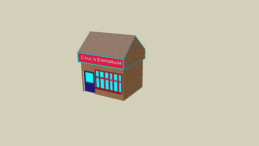 Caul's Emporium (Original model)