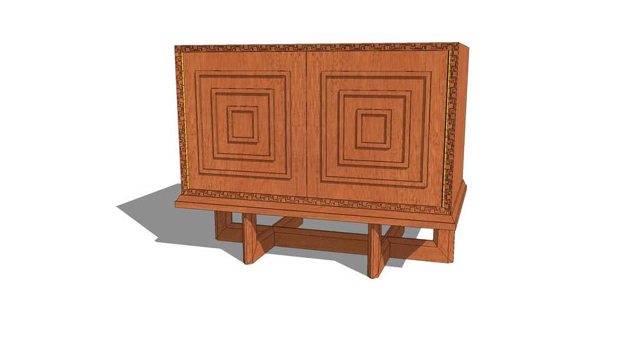 Frank Lloyd Wright cabinet