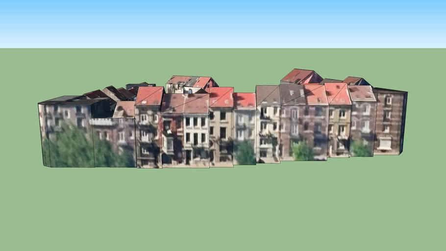 Gebouw in Sint-Joost-ten-Node, België