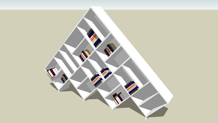 pyramide bookcase
