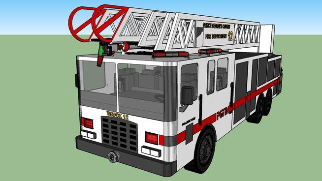 PGFD Truck 812