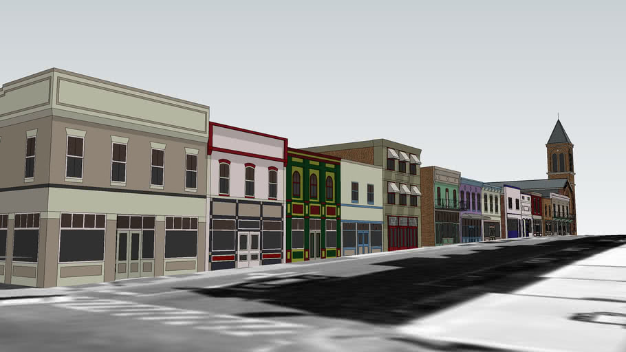 100 Block E. Davis Street (North Side), Culpeper, Virginia