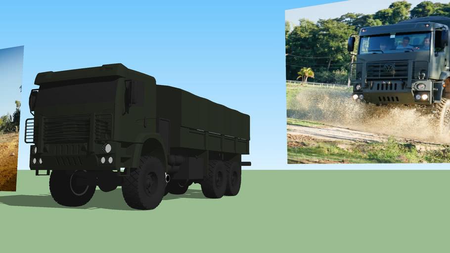 Caminhão do Exército Brasileiro - MAN VW Constellation 31.320 6x6