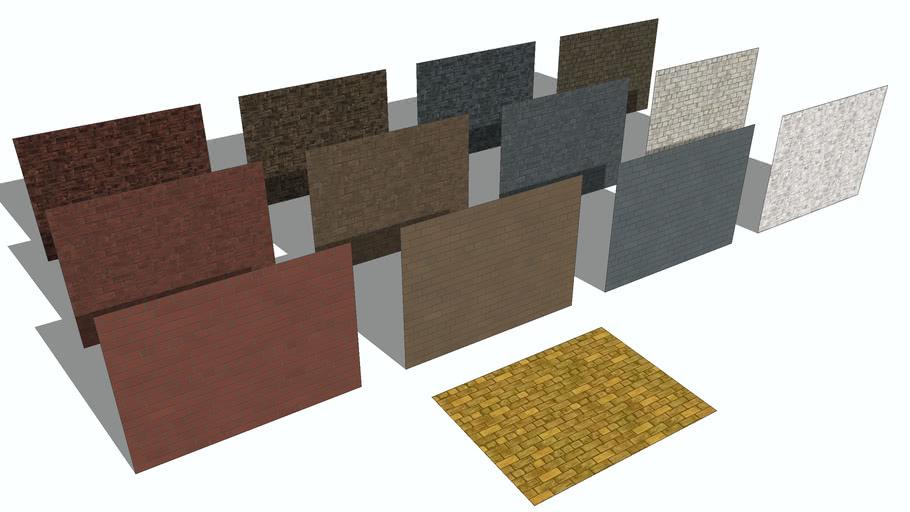 Brick Wall Textures 3d Warehouse