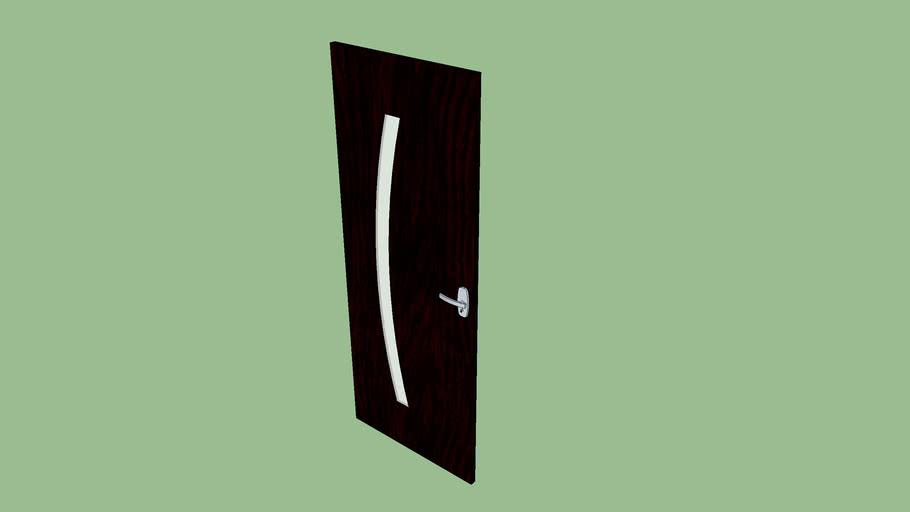 modern Door, 2 handle!!
