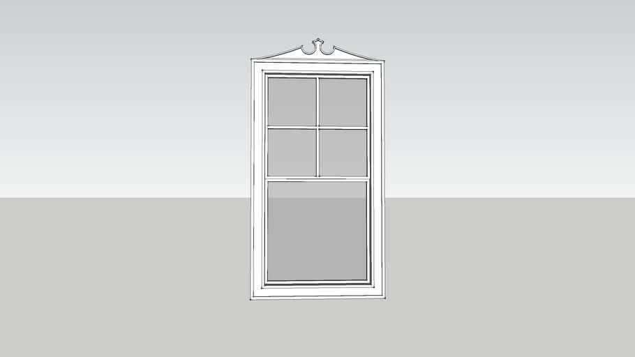 Federal Style Window