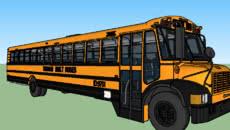 Big Long Yellow Bus