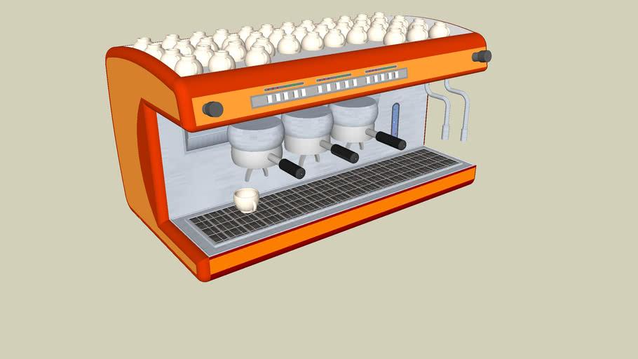 "Italian Espresso coffee machine 3 ""macchina da caffé"""