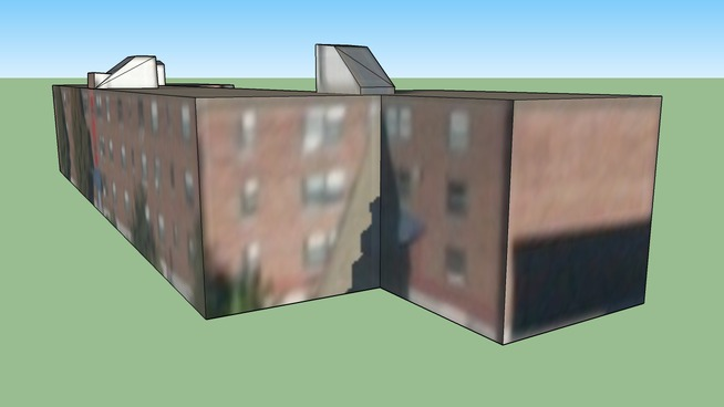 Bâtiment situé Boston, MA, USA