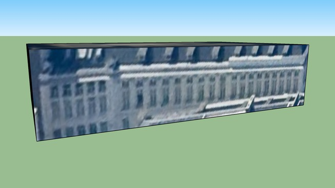 Строение по адресу Брюссель, Бельгия