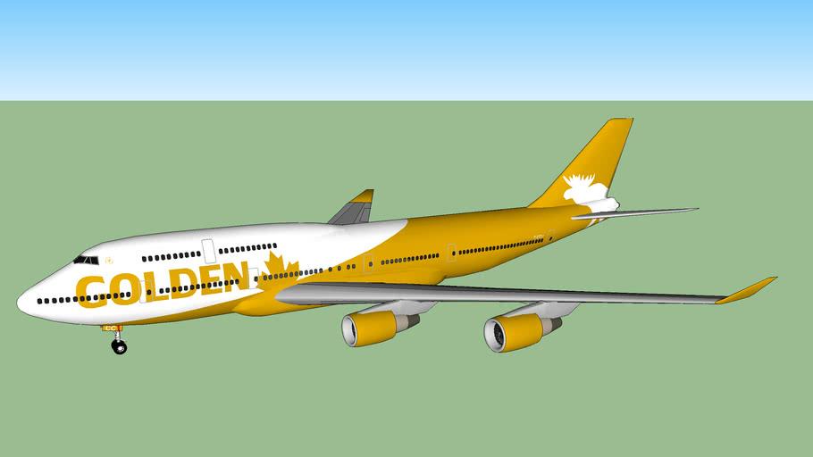 Golden Moose Airways 747-415ER (2015)