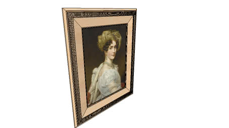 painting frame classical 2