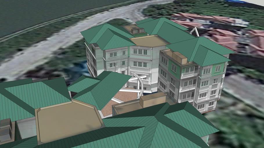 Government Housing - Green - Kinsana Street 1