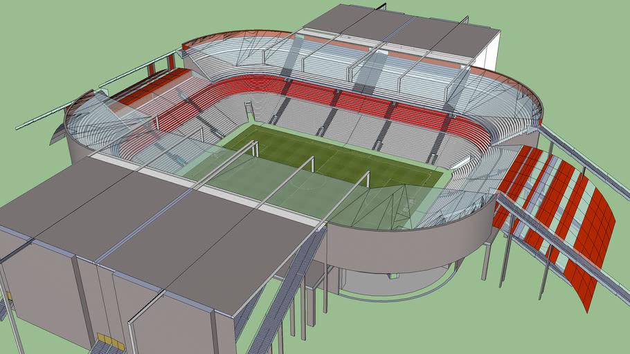3 tier stadium