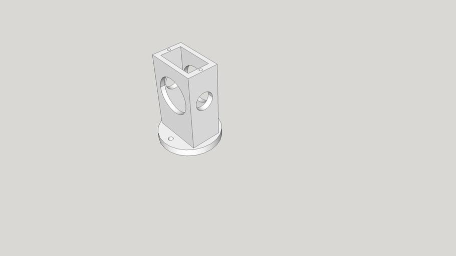 short sub-micro servo mount