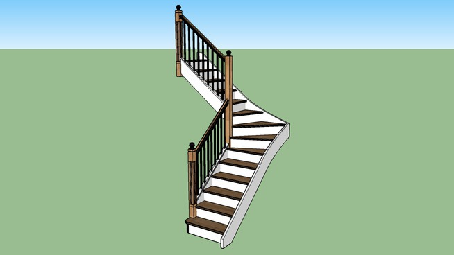 L-Shaped Stair