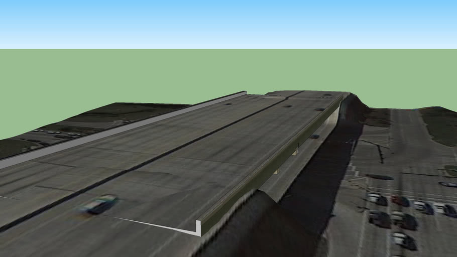 Northpark Drive - Interstate 69 Overpass