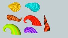 Seashells and horns