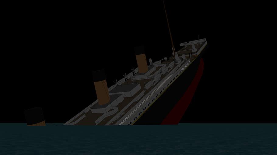 TITANIC break up