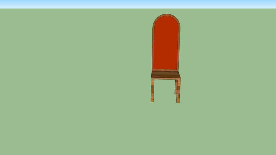 cadeira de madeira  românica