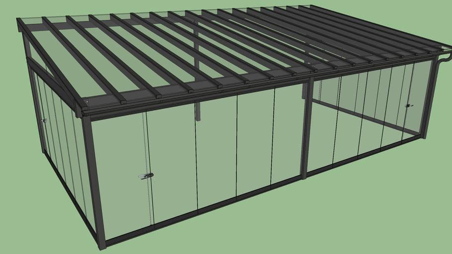 Lumon VT3 Sunroom with L6T Retractable glass