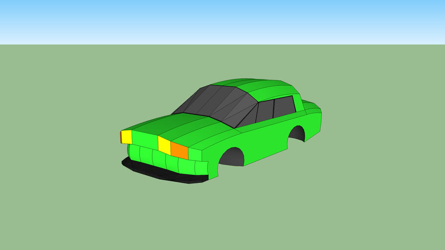 My first simple car