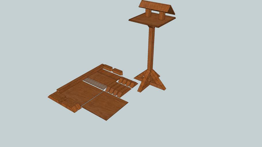 Bird Table Plan