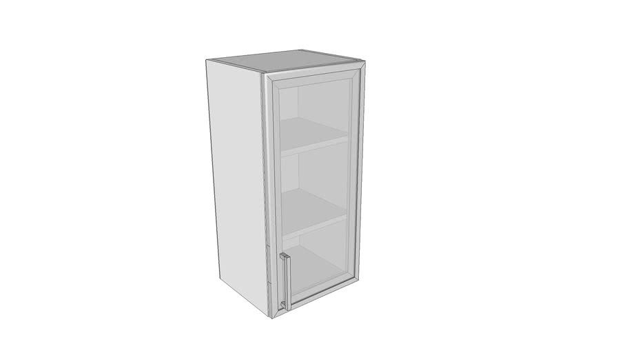 Jednokrilni stakleni gornji element - 35 cm
