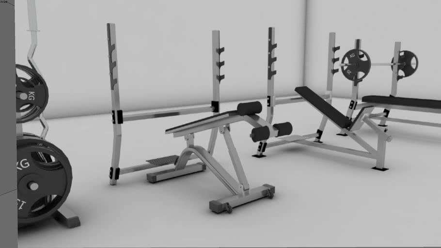 Gym Equipments | 3D Warehouse