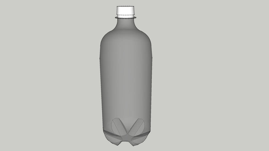 2 L (2.1 QT) Soda Pop Bottle
