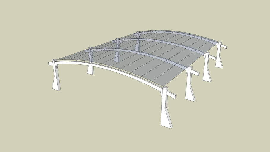 Glass Arch Shelter