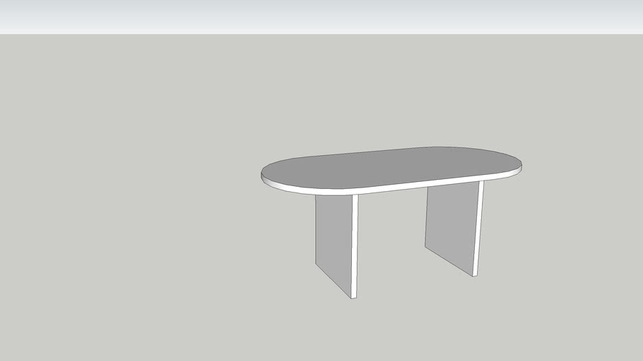 Race Track Table 3d Warehouse