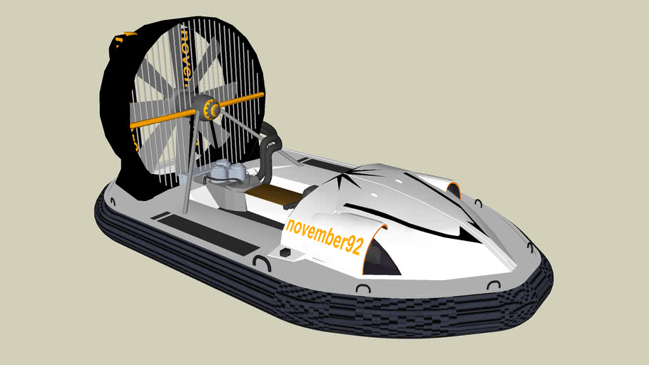 high speed hovercraft