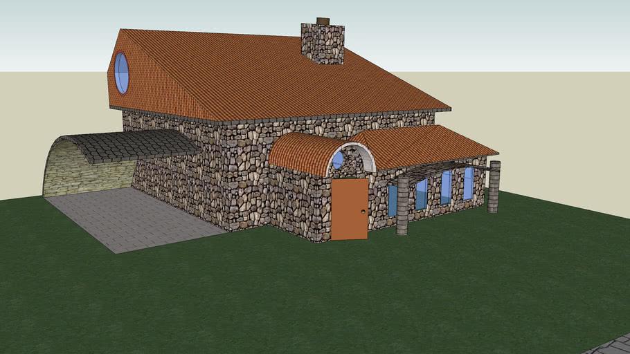 My first design (a house)